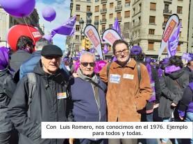 Con Luis Romero nos conocemos desde en el al años 1976.